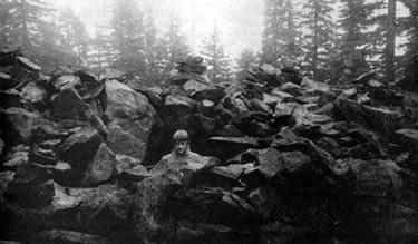 Jim Green in rock pit